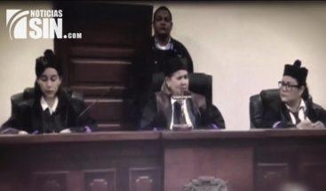 En el banquillo de los acusados fueron sentadas tres juezas de SFM, acusadas de cometer faltas graves