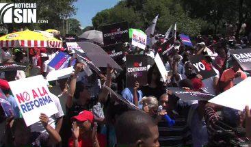 Protestas, recolección de firmas y enfrentamientos por posible reforma a la Constitución