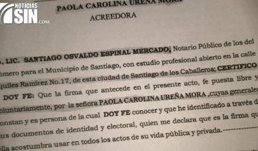 Falsificación de firmas despoja de terrenos a familia en Montecristi
