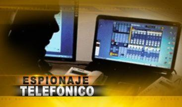 Espionaje telefónico bajo la lupa