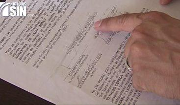 Falsificación de escritura para la venta de terrenos en Samaná