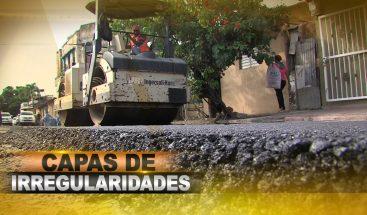 Festival de contratos irregulares patrocinados por Obras Públicas