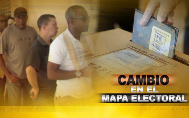 CAMBIO EN EL MAPA ELECTORAL