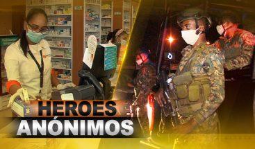 Héroes anónimos ante pandemia del coronavirus