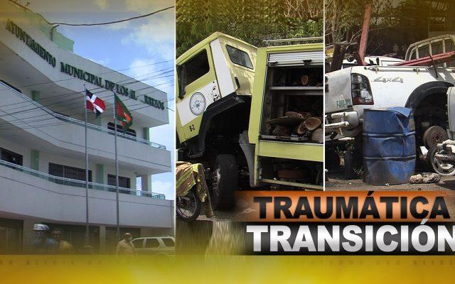 Ayuntamiento de Los Alcarrizos, traumática transición que se repite