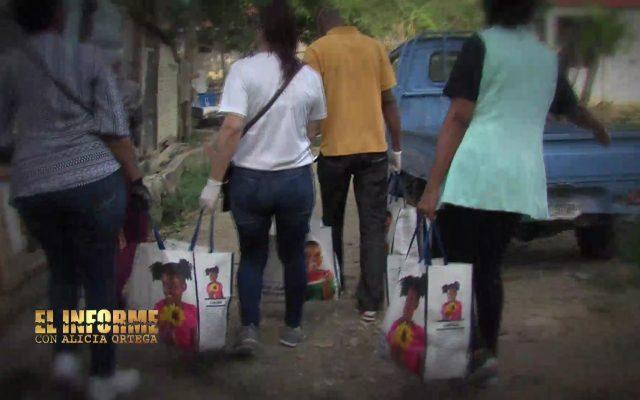 Jóvenes se unen para llevar ayuda a decenas de familias