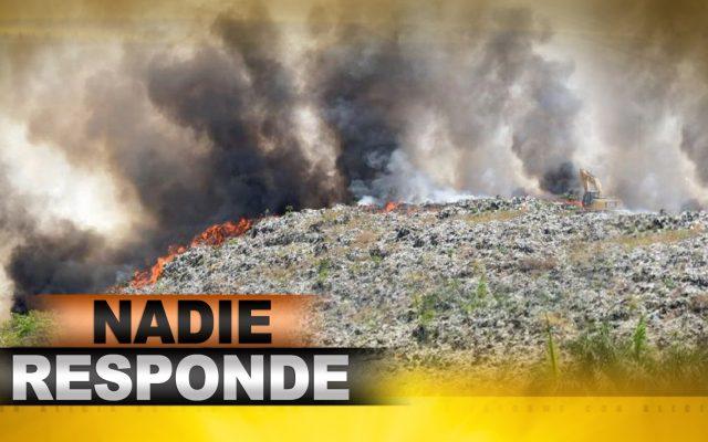 Incendio en el vertedero de Duquesa, un caos que no tiene explicación