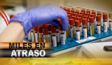 Laboratorio Nacional, personal agotado y miles de muestras por procesar