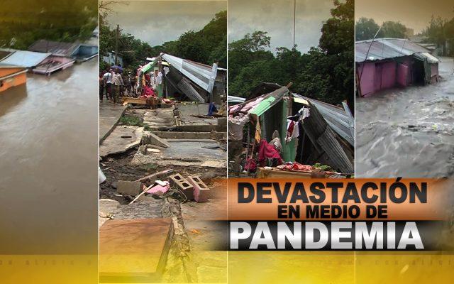 Inundaciones de Isaías dejan devastación en medio de pandemia