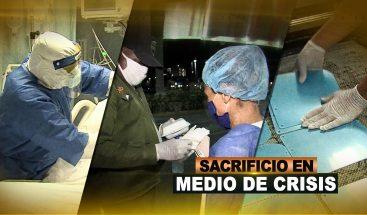 SACRIFICIO EN MEDIO DE LA CRISIS