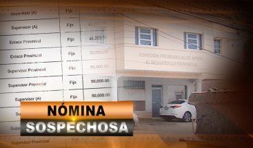 NÓMINA SOSPECHOSA
