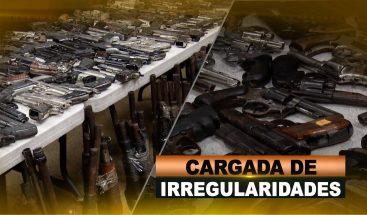 CARGADA DE IRREGULARIDADES