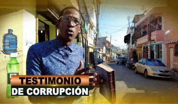TESTIMONIO DE CORRUPCIÓN